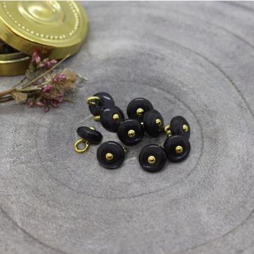 Atelier Brunette - Jewel Button in Night (9 mm)