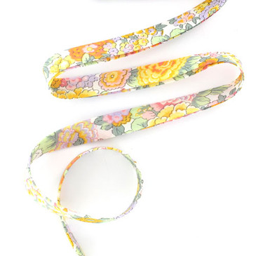Liberty Bias Tape - Elysian W (yellow)