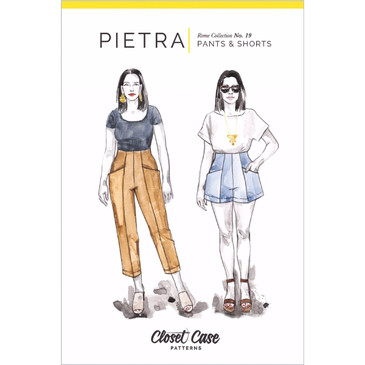 Closet Case -Pietra Pants + Shorts Pattern