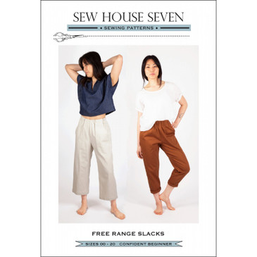 Sew House 7 - Free Range Slacks