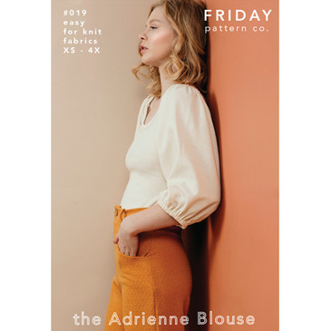 Friday Pattern Co - Adrienne Blouse