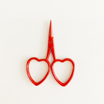 Little Love Scissors in Red