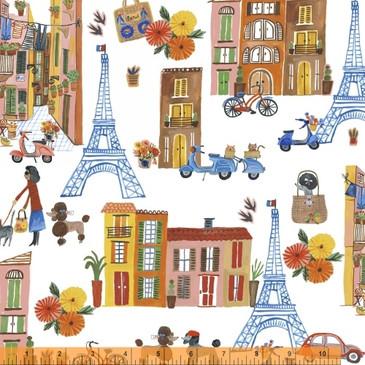 Ooh La La by Carolyn Gavin - Paris - Organic Cotton