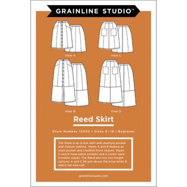 Grainline Studio - Reed Skirt (Sizes 0-18)