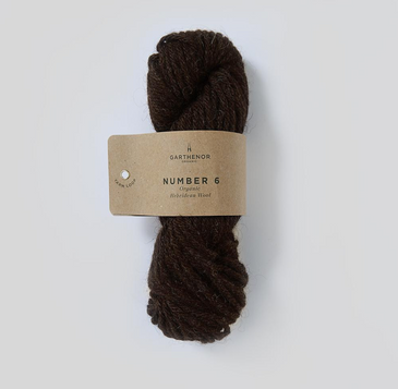 Garthenor No 6 - Super Chunky (Organic Hebridean in Rona) - 100g