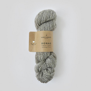 Garthenor Ronas 4 ply: Native Shetland in Shale - 50g