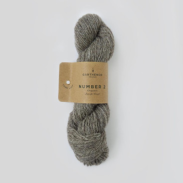 Garthenor No 2 - Fingering 4 Ply (Organic Jacob in Fossil) - 50g