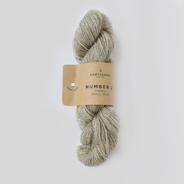Garthenor No 2 - Fingering 4 Ply (Romney in Rye) - 50g