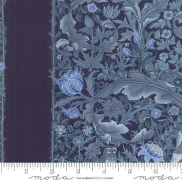 Moda:  May Morris - The Owl 1895 in Indigo