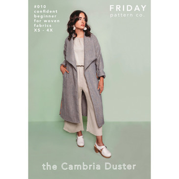 Friday Pattern Co - Cambria Duster