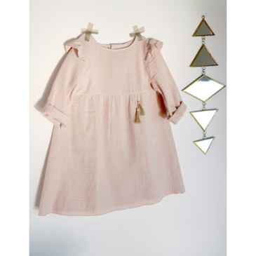 Atelier Scämmit - Bouton D'Or Girls' Blouse or Dress Pattern