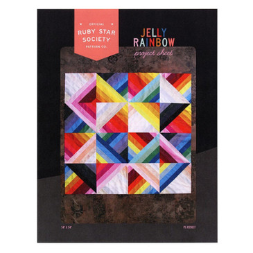 Ruby Star Society: Jelly Rainbow Quilt Project Sheet