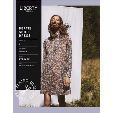 Liberty Fabrics - Bertie Shift Dress Pattern