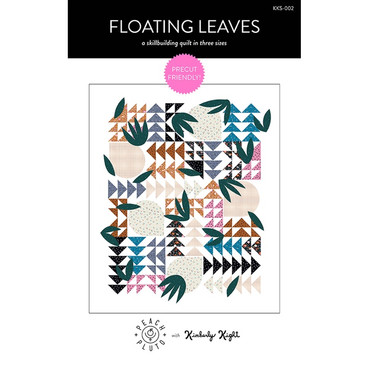 Peach + Pluto - Floating Leaves by Kimberly Kight