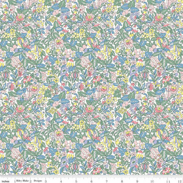 Liberty Quilting: Flower Show Spring in Hyde Floral A