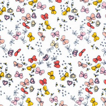 Flutterflies - Coral