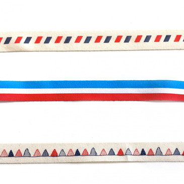 """Red White and Blue 5/8"""""""