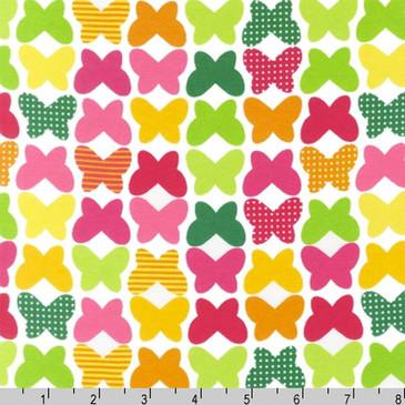 """Robert Kaufman Laguna Jersey Butterflies - 58"""" wide"""
