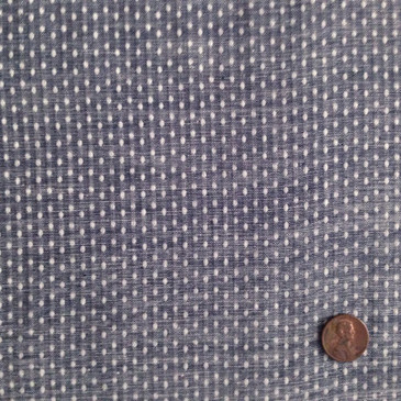 Robert Kaufman Chambray Union Slubby Dot