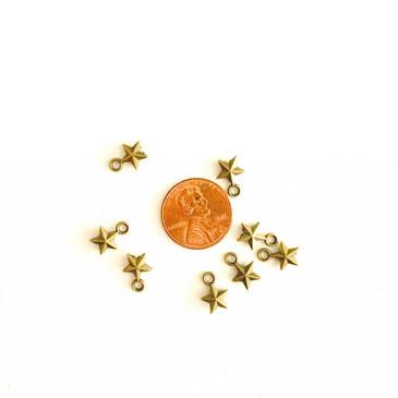 Bronze Star II Charm