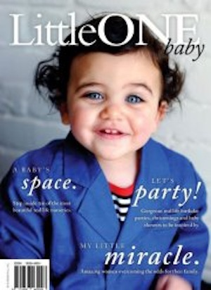 LittleOne baby magazine features Denim Baby clothing online