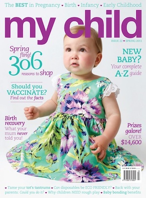 My Child Spring 2011 features Denim Baby kids clothing online