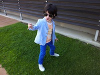 Seb Rock Star in Funky Kids Clothes