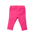Bebe Nina Stretch Jegging - Hot Pink (000 - 18 mths)