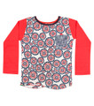 Cat Baby Longsleeve Pocket T Shirt - Front