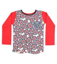 Cat Baby Longsleeve Pocket T Shirt - Front