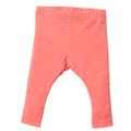Bebe Liberty Plain Leggings - Coral - (00-2)