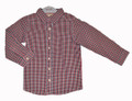 Fox & Finch Dressy Mini Check Shirt (sizes 2-7)