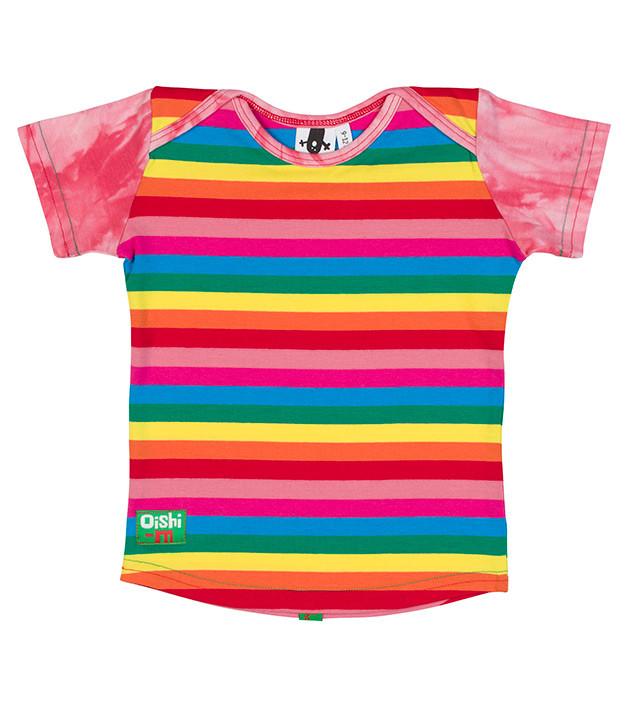 7234e31e86b Oishi-m Lollies Shortsleeve T Shirt (6-9 months) - Denim Baby
