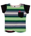Elasto Shortsleeve Pocket T Shirt - Front