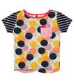 Ginny Shortsleeve Pocket T Shirt - Front