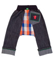 Oishi-m The Chimpy Skinny Jean (Size 6-15 months to 2-3 years)