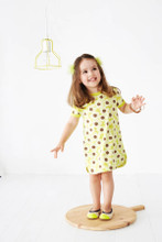 Baobab Yellow Flower Curved Dress