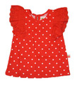 Oobi Maya Red Dot Top