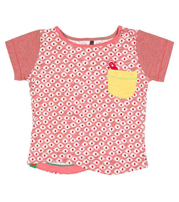 6cb3dbc2e Oishi-m Koi Beauty Shortsleeve Pocket T Shirt (size 6 months to 3-4 ...