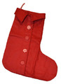 Giant Felt Stocking - Red