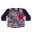 Oishi-m Born To Be Longsleeve Pocket T Shirt - Front