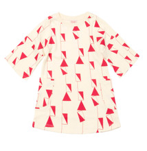 Baobab Abstract Shapes Boatneck Dress