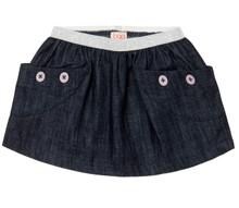 Baobab Denim Pocket Skirt