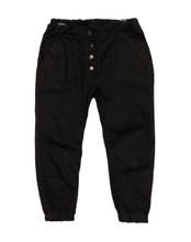 Baobab Black Denim Harem Jeans