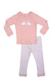 Huckleberry Lane Soft Pink Bunny PJ's (2 to 8)