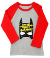Curious Wonderland Simply Batman Longsleeve Tee