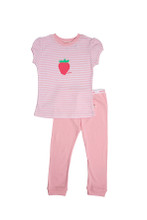Huckleberry Lane Pink Strawberry PJ's (1 to 8)