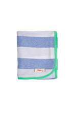Huckleberry Lane Blue Marle Stripe Wrap