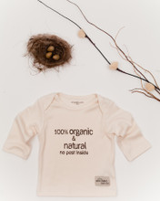 eco peko unisex organic long sleeved tee with bag