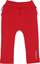 Signature SOOKIbaby Red Frill Back Legging - Front View
